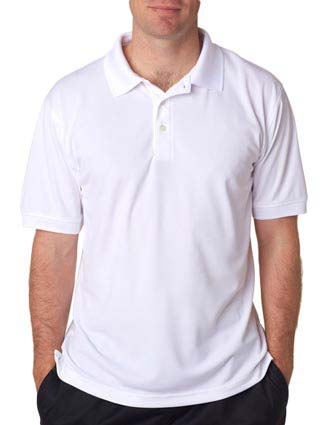 UltraClub Men's Platinum Performance Piqué Polo with Temp Control-UL-8315