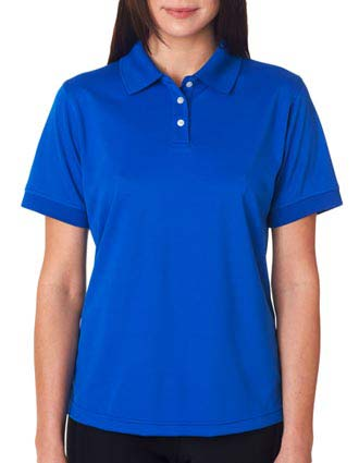 UltraClub Ladies' Platinum Performance Piqué Polo with TempControl-UL-8315L