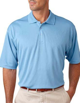 8405 UltraClub® Men's Cool & Dry Mesh Sport Polo-UL-8405