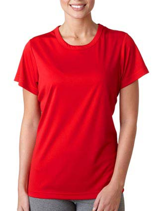 UltraClub Ladies' Cool & Dry Sport Performance Interlock Tee-UL-8420L