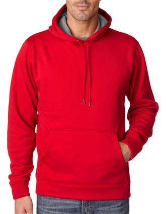 8441 UltraClub Adult Cool & Dry Sport Hooded Fleece-UL-8441