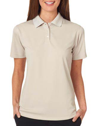UltraClub Ladies' Cool & Dry Stain-Release Performance Polo-UL-8445L
