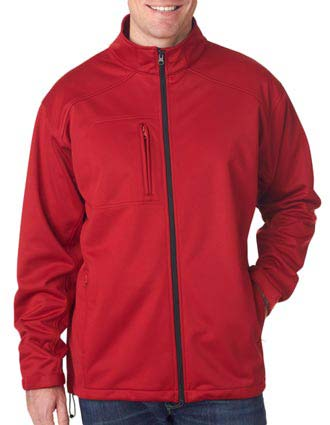 8477 UltraClub® Soft Shell Solid Jacket-UL-8477
