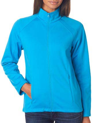 8477L UltraClub® Ladies' Soft Shell Jacket-UL-8477L