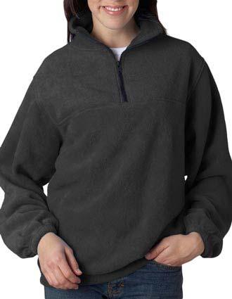 UltraClub® Adult Iceberg Fleece 1/4-Zip Pullover-UL-8480