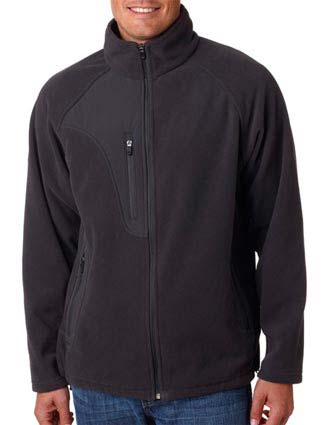 8495 UltraClub Adult Full-Zip Micro-Fleece Jacket With Pocket-UL-8495
