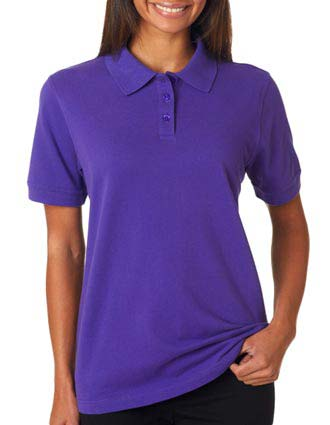 8530 UltraClub Ladies' Classic Piqué Polo-UL-8530