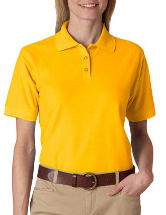 8541 UltraClub® Ladies' Whisper Piqué Polo-UL-8541
