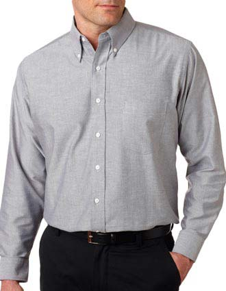 8970 UltraClub® Men's Classic Wrinkle-Free Long-Sleeve Oxford-UL-8970