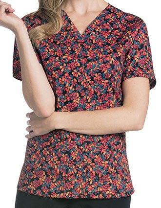 Urbane Women's Wanderlust Print V-Neck Tunic