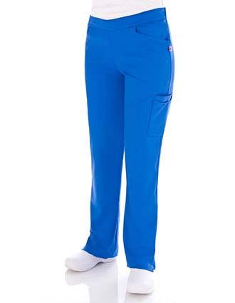 Urbane Women Kelsie Double Cargo Nursing Scrub Pants-UR-9309