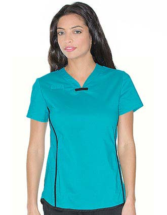Urbane Sport Womens Athletic Sprint Tunic Scrub Top-UR-9557