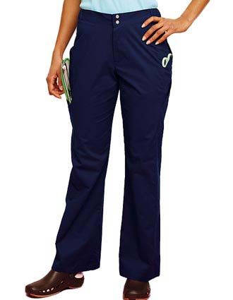 Urbane Sport Womens Four Pocket Tailored Cargo Medical Scrub Pants-UR-9723