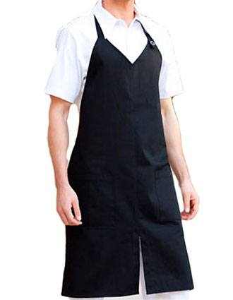 Barco Verite Unisex Apron With V-Neck Two Pockets and Slit Front-VE-SVA304