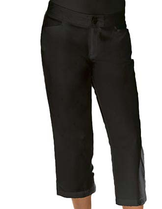 Barco Verite Lia Women's Capri with zipper front and Two pockets-VE-SVP111