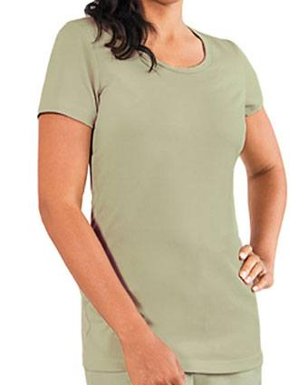 Barco Verite Tria Women's Short Sleeve Tee with Scoop Neck-VE-SVT100