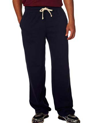 7766 Weatherproof Adult Cross Weave® Open-Bottom Blend Sweatpants-WE-7766