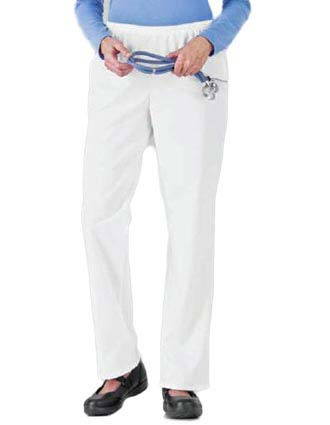 White Swan Fundamentals Womens Two Pocket Scrub Pants-WH-14220