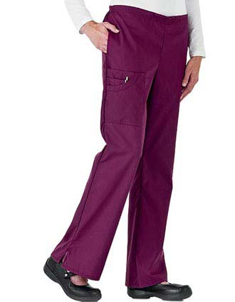 White Swan Fundamentals Womens Five Pocket Cargo Scrub Pants-WH-14236