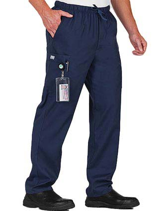 White Swan Fundamentals Men's Everything Scrub Pants-WH-14343