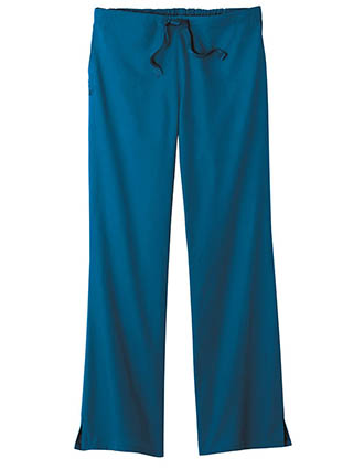 White Swan Fundamentals Women'S Mid-Rise Professional Petite Pant