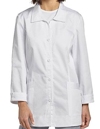 White Cross Women's Four button Twill Labcoat