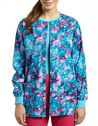 White Cross Womens Illumination warm-up jacket