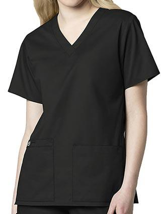 Wink Scrubs Women's V-Neck Medical Scrub Top-WI-101