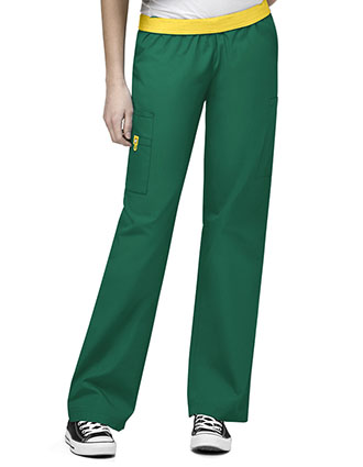 Wink Scrubs Women The Quebec Lady Fit Nursing Pants-WI-5016