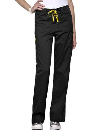 Wink Scrubs Women Boot Cut Cargo Nursing Pants-WI-5103