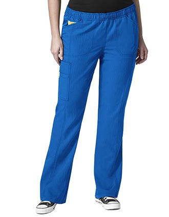 Wink Scrubs WonderWink Plus Boot Cut Cargo Nurse Scrub Pants-WI-5105