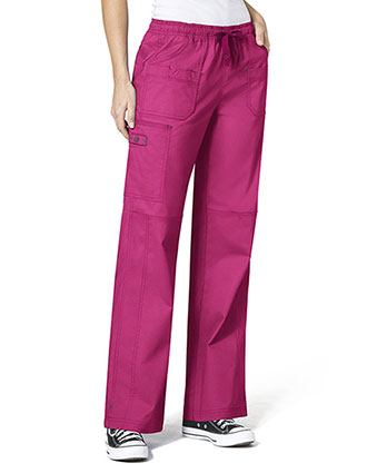 Wink Scrubs WonderFlex Faith Lady Fit Boot Cargo Nurse Scrubs Pants-WI-5108