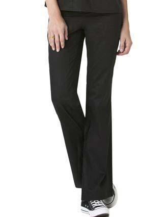 Wink Scrubs Women Flare Leg Flat Front Flex Waist Pants-WI-5202