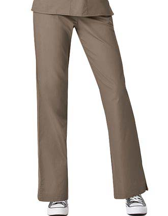 Wink Scrubs Women Solid Flare Leg Fashion Nursing Pants-WI-5203