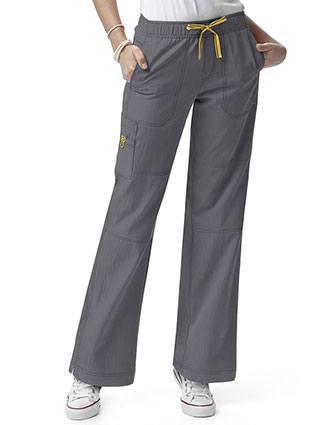 Wink Scrubs Women Tall Sporty Cargo Solid Nursing Pants