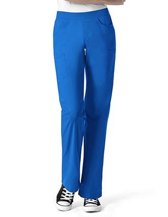 I Love Wonderwink Women's Denim Inspired Pull On Pant