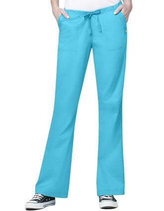 Wink Scrubs Women Utility Flare Pants-WI-5402