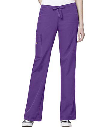 Wink Scrubs Women Cargo Drawstring Nursing Pants-WI-5414