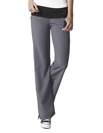 Wink Scrubs Women's Fold Over Knit Waist Flare Leg Scrub Pant-WI-5514