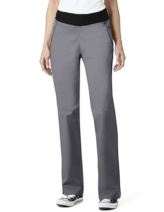 WonderWink Seven Flex Women's Straight Leg Pull On Pant-WI-5702