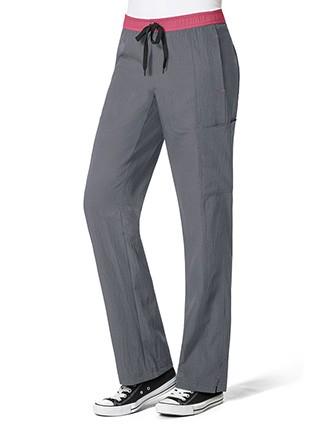 Wonderwink Four-Stretch Women's Straight Leg Cargo Petite Pant