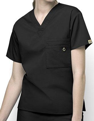Wink Scrubs Unisex The Alpha V-Neck Nursing Top-WI-6006