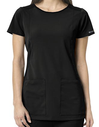WonderWink HP Women's Neo Boat Neck Scrub Top-WI-6212