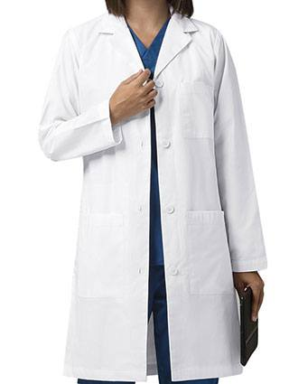 Wink Scrubs Women's Long Lab Coat-WI-7402