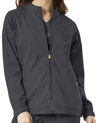 WonderWink Next Women's Boston Solid Warm-up Jacket-WI-8119