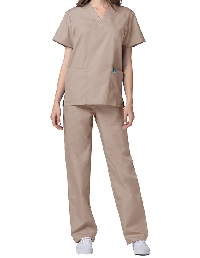 Adar Uniform Unisex Basic Nurse Scrub Set