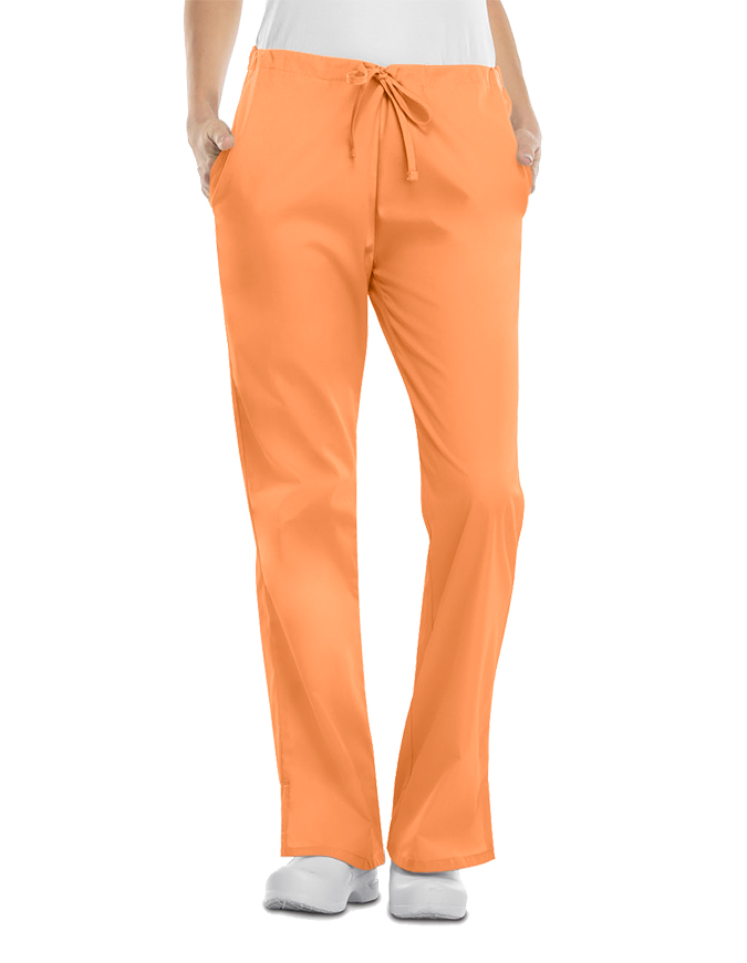 Cherokee Workwear Womens Petite Three Pocket Pants
