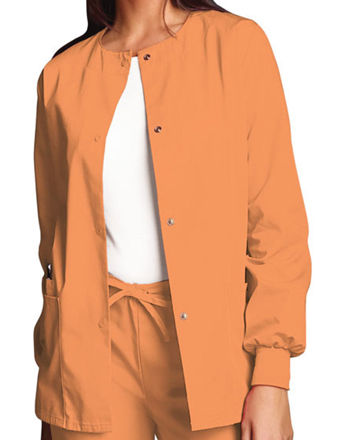 Cherokee Workwear Womens Warm-Up Scrub Jacket