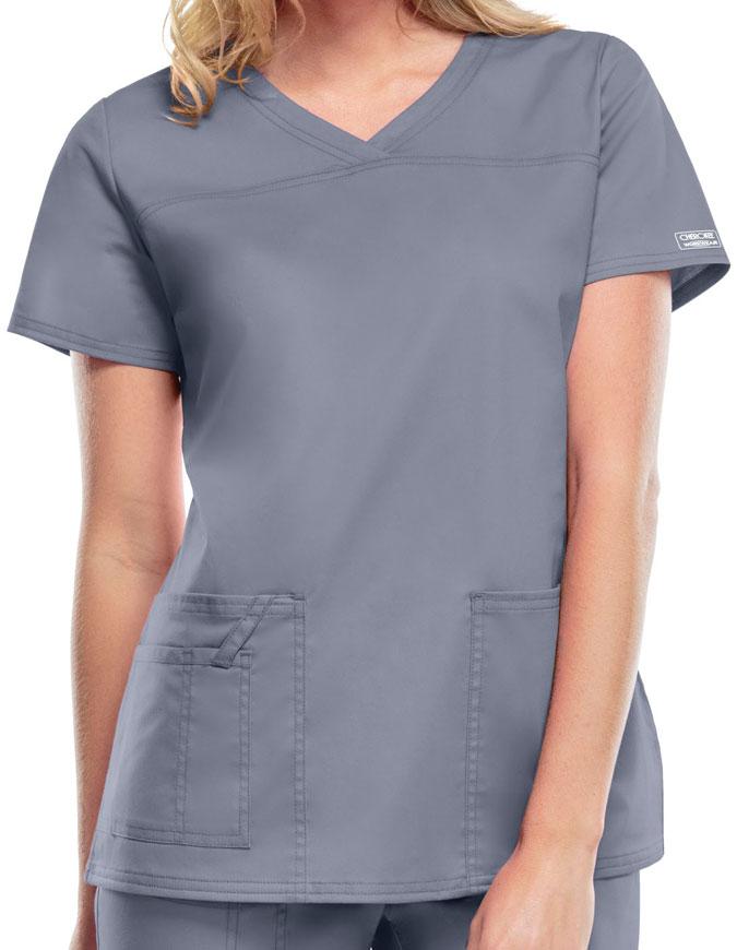 Cherokee Workwear Women's V-Neck Nursing Scrub Top