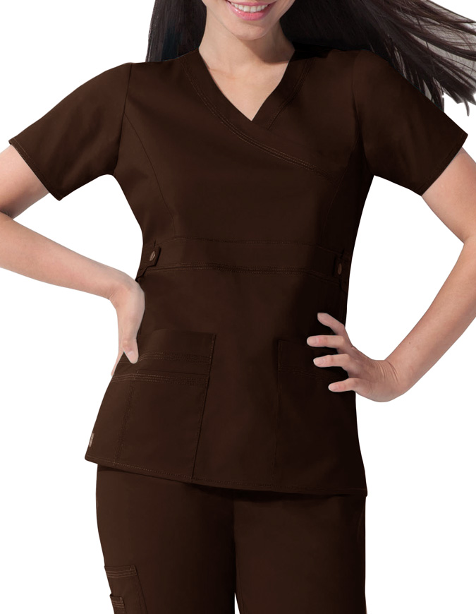 Dickies GenFlex Junior Four Pocket Utility Scrub Top